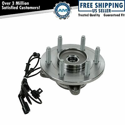 Front Wheel Hub & Bearing for 03-06 Ford Expedition Navigator 4x4 w/ ABS New