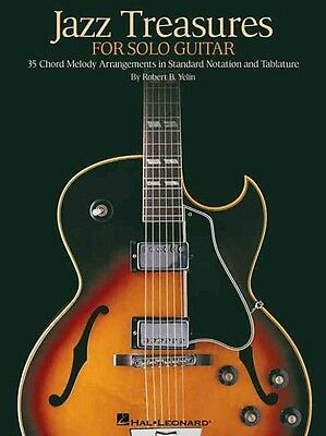 Jazz Treasures for Solo Guitar by Paperback Book (English)