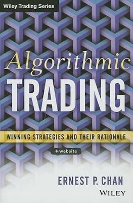 Algorithmic Trading by Ernie Chan Hardcover Book (English)