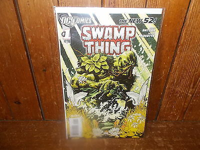 Swamp Thing #1 (New 52) FIRST PRINTING