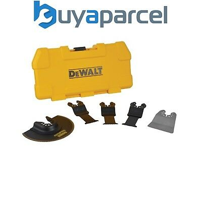 Dewalt DT20715 5 Piece MultiTool Accessory Blade Set for Wood Nails Dry Wall PVC