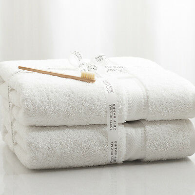 Jeff Banks 100% Egyptian Cotton Luxury 700 GSM Towels - 2 Bath Sheets