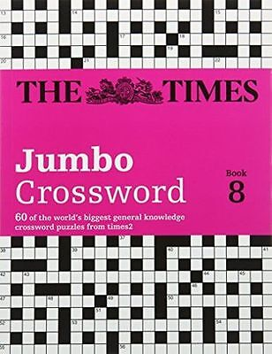 The Times 2 Jumbo Crossword Book 8 (Crosswords) - 0007511981