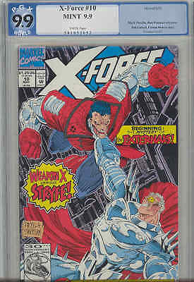 X-Force #10  PGX 9.9 MINT: 1986 Marvel : Price Drop!