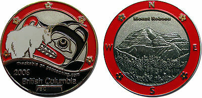 BC in Red Collectible Coin