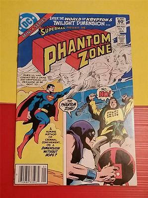 SUPERMAN presents PHANTOM ZONE #1 JAN 1982 - DC COMICS - TWILIGHT DIMENSION
