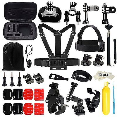 Sport Accessories Accessory Kit Bundle 46-in-1 for GoPro Hero 4/3+/3/2/1 Camera