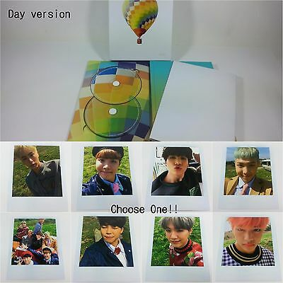 BTS Special Album Young Forever Day ver. Opened CD selected photocard K-POP Idol