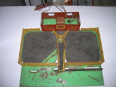 American Flyer Cattle Base for parts, motor vibrates , sold as is lot # 8765