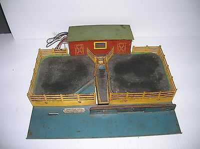 American Flyer Cattle Base for parts, motor vibrates , sold as is lot # 8767