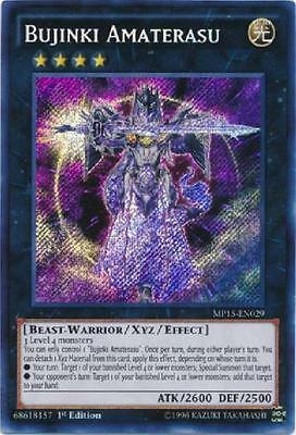 BUJINKI AMATERASU - (MP15-EN029) - Secret Rare - 1st - Yu-Gi-Oh Mega Pack 2015