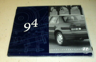 1994 Hyundai Press Information Packet,VG-,1993   R