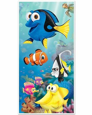 Finding Dory Nemo Door Cover Poster Photo Booth Party Decoration Under The Sea