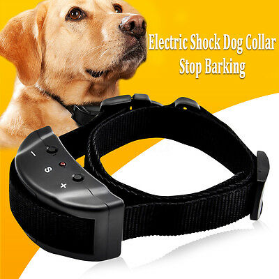 Small Electronic Anti Bark Control Collar Auto for Training Pet Dog Stop Barking