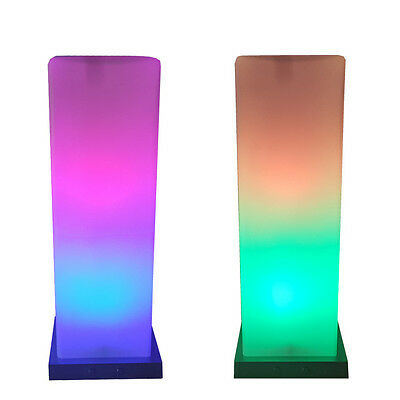 tischleuchte led farbwechsel rgb tisch leuchte paulmann lampe glas s ule 230v eur 34 99. Black Bedroom Furniture Sets. Home Design Ideas