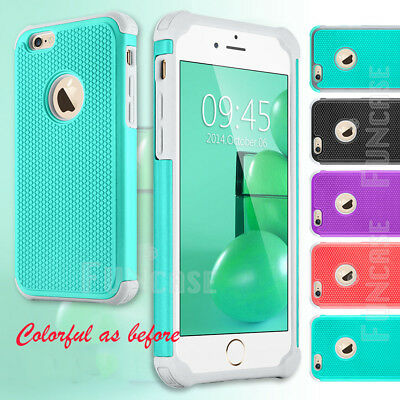For Apple iPhone 6s Plus Durable Hybrid Rugged Shockproof Protective Case Cover
