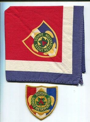 Neckerchief And Patch  From Schiff Scout Reservation
