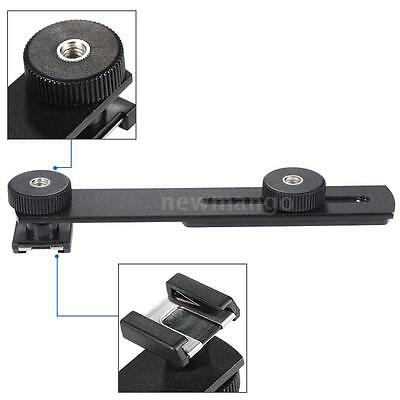 Boya BY-C01 Universal Bracket Additional Cold-shoe for Microphone Camcorder A2B8