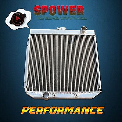 For Ford Falcon XY XW 302 351 Cleveland 8Cyl 6Cyl Aluminum Radiator 3Row