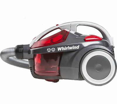 HOOVER Whirlwind SE71_WR01 Cylinder Bagless Vacuum Cleaner Grey & Red
