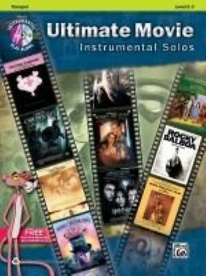 Ultimate Movie Instrumental Solos: Trumpet, Book & CD by Publishing Alfred Paper