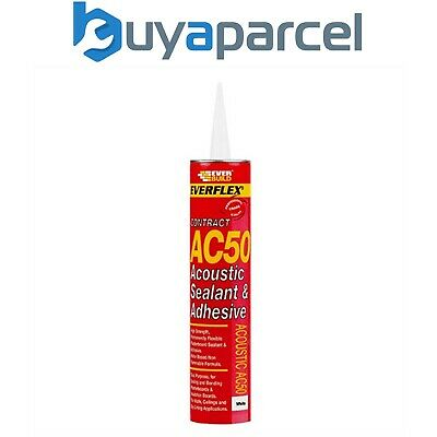 Everbuild AC50 Acoustic Sealant and Adhesive C4 Size Cartridge