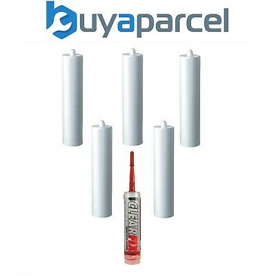 Everbuild Clear Fix Adhesive C3 Size Cartridge Pack of 6
