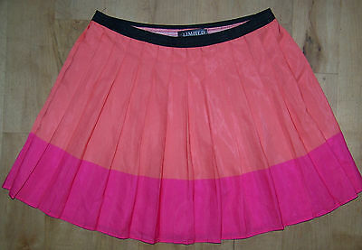 Girls M&S Limited Collection Orange & Pink Skirt Age 10-11.