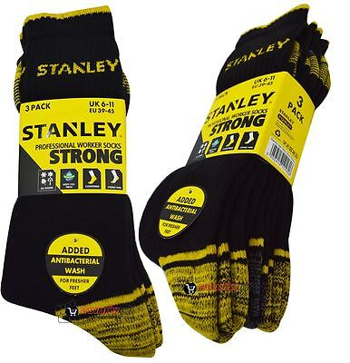 Stanley Professional Worker Socks Thermal Strong Warm Work Winter Temp Control