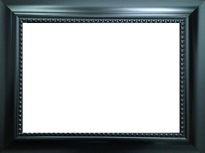 Beaded Black 20 X 16 Picture Frame 6999 Picclick