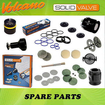 Solid Valve Parts - Balloon, Filling Chamber, Screen Set, Housing, Mouthpiece