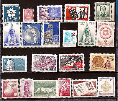 CHILI  neufs Timbres usages courants,,sujets divers 295T5