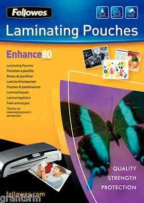 Fellowes Laminating Pouch A4 160 micron Enhance Stylish Professional Finish
