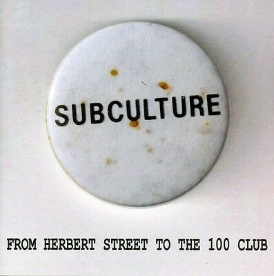 Subculture - From Herbert Street to the 100 Club [New CD]