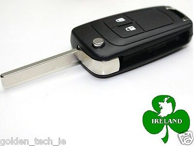 Key Shell For OPEL VAUXHALL Key Fob Insignia Astra Flip Remote Case Replacement