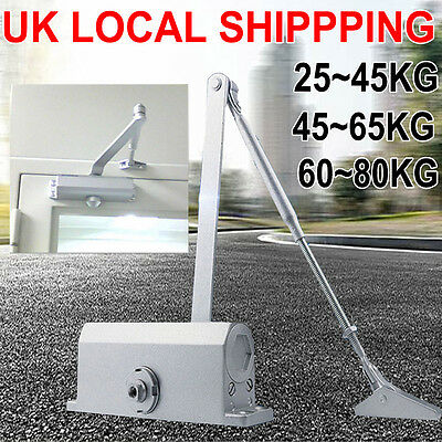 45-80Kg Heavy Duty Fire Rated Overhead Door Opener/closer Soft Close Home Office