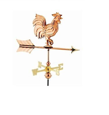 Rooster Copper Weathervane, Small