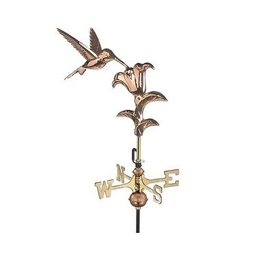 Hummingbird Copper Weathervane