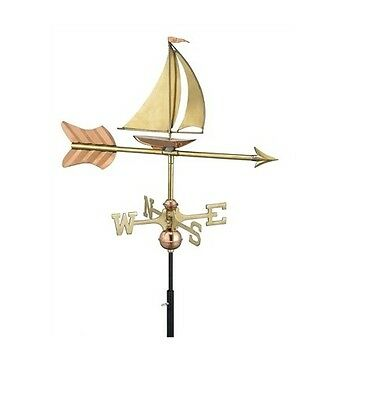 Sailboat Copper Weathervane