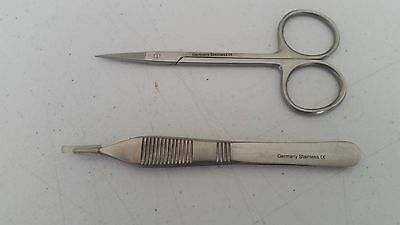 Classic Suture Removal 2pcs Kit German Stainless Steel CE Surgical Instruments