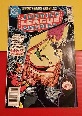 """JUSTICE LEAGUE AMERICA"" #199 FEB 1983 - DC COMICS * MASTER of the WORLD"
