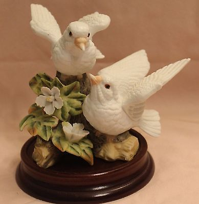 vintage Pair of Doves on a branch figuring by Price Products