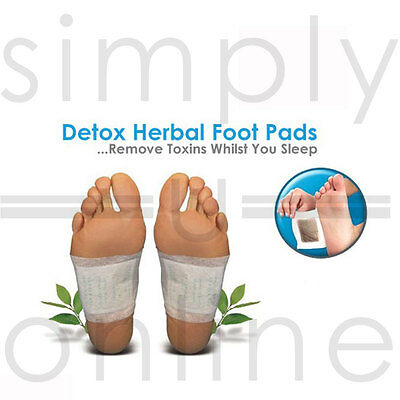 Detox Cleansing Foot Pads Patches Remove Body Toxins Aids Weight Loss