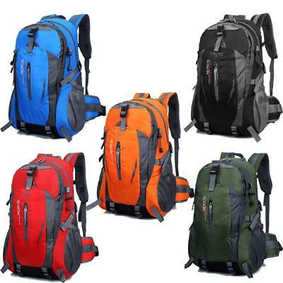 40L Waterproof Nylon Outdoor Hiking Camping Travel Luggage Rucksack Backpack Bag