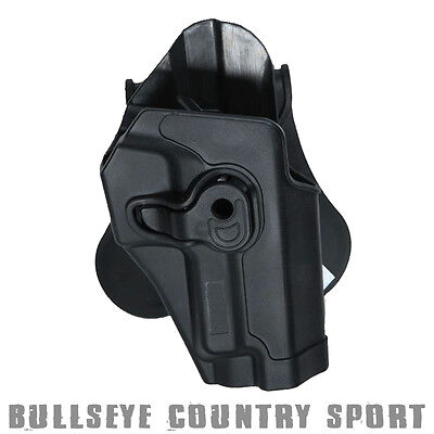 Strike Systems Airsoft P226 Moulded Polymer Holster Black 18418 Roto Retention