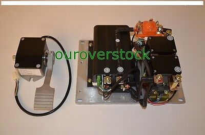 New CURTIS Controller 1204M-5203 Assembly 36V / 48V with Throttle (foot pedal)
