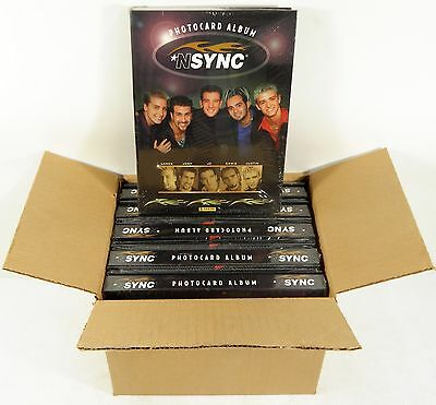 Lot of (10) 1999 Panini 'N SYNC Photocard Albums New ^ Justin Timberlake JC