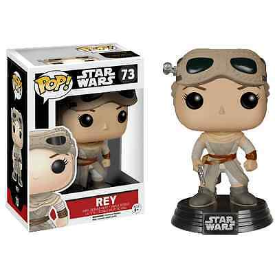 Figurine Pop! Star Wars EP7 Rey Exclusive Licence Officielle