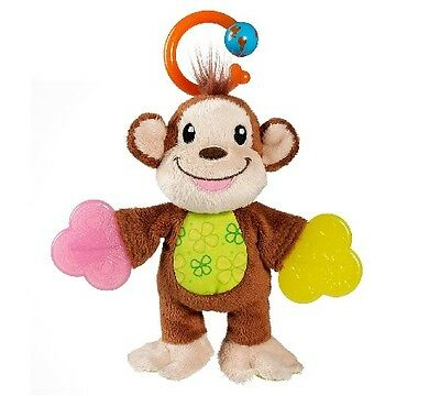 Munchkin Teether Babies Monkey Multi-textured Surfaces BABY SHOWER GIFT