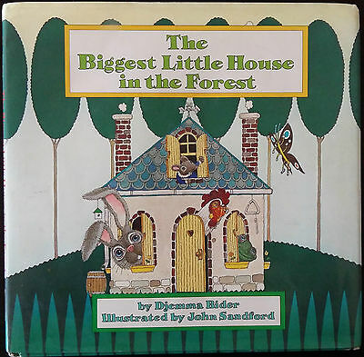 The Biggest Little House in the Forest - DJEMMA BIDER - 1986 - CAEDMON - RARO !!